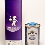 De Beer HS 420 Air Dry Clear Coat 5L, HS 420 Air Dry Clear Coat 1L