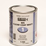 De Beer MS Clear Coat Matt 1L
