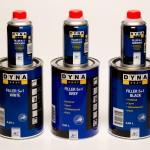 Dynacoat Fillcr 5+1 Whitc-Grey-Black 0.84L. Filler Hardener 5 H 0.16L