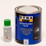 Dynacoat Polyester Spray Filler 0.8L Hardener 30ml