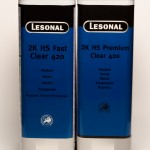 Lesonal 2K HS Fast Clear 420-2K HS Premiun Clear 420 5L